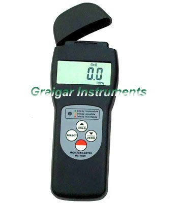 search type moisture meters MC7825S