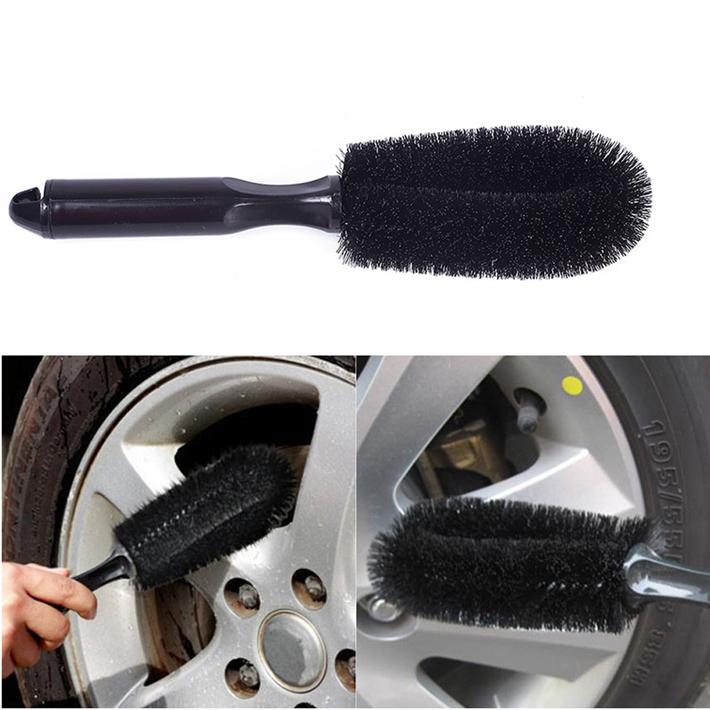 New Car wheel brush wheel rims tire washing brush vehicle cleaning brush car scrub brush CS168(China (Mainland))
