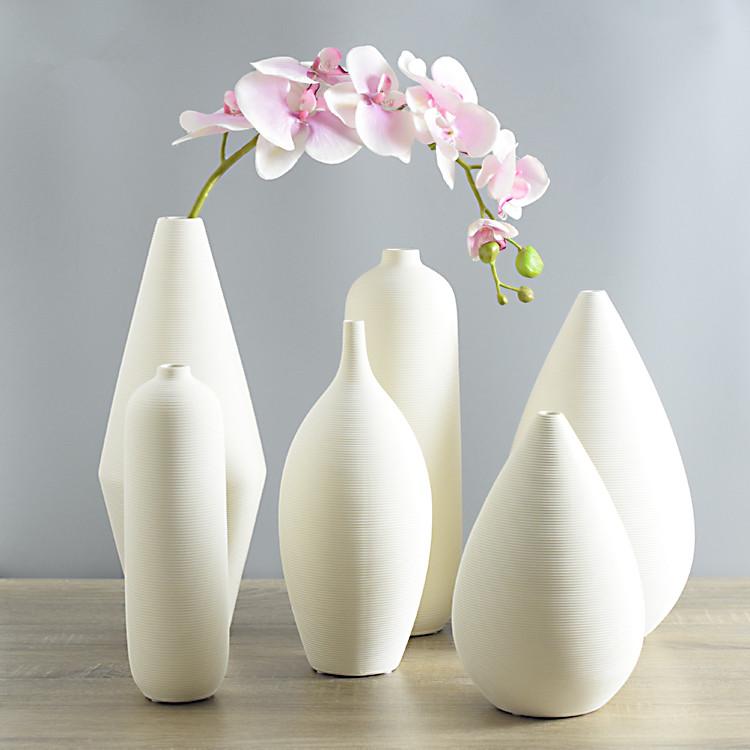 Online kopen wholesale wit vazen aardewerk uit china wit for Vase decoration interieur