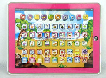 ipad table computer learning Machine toy Y-pad ABC Version kid learning toy & English ABC