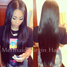 2015 Hot Silk Straight Brazilian Virgin Hair Full Lace Human Hair Wigs Lace Front Wigs Glueless Full Lace Wig For Black Women(China (Mainland))