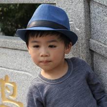 Spring New Style Child Adult Linen Fedora Fashion Children Leisure Hat Straw Woven Man Female Bonnet Homme(China (Mainland))