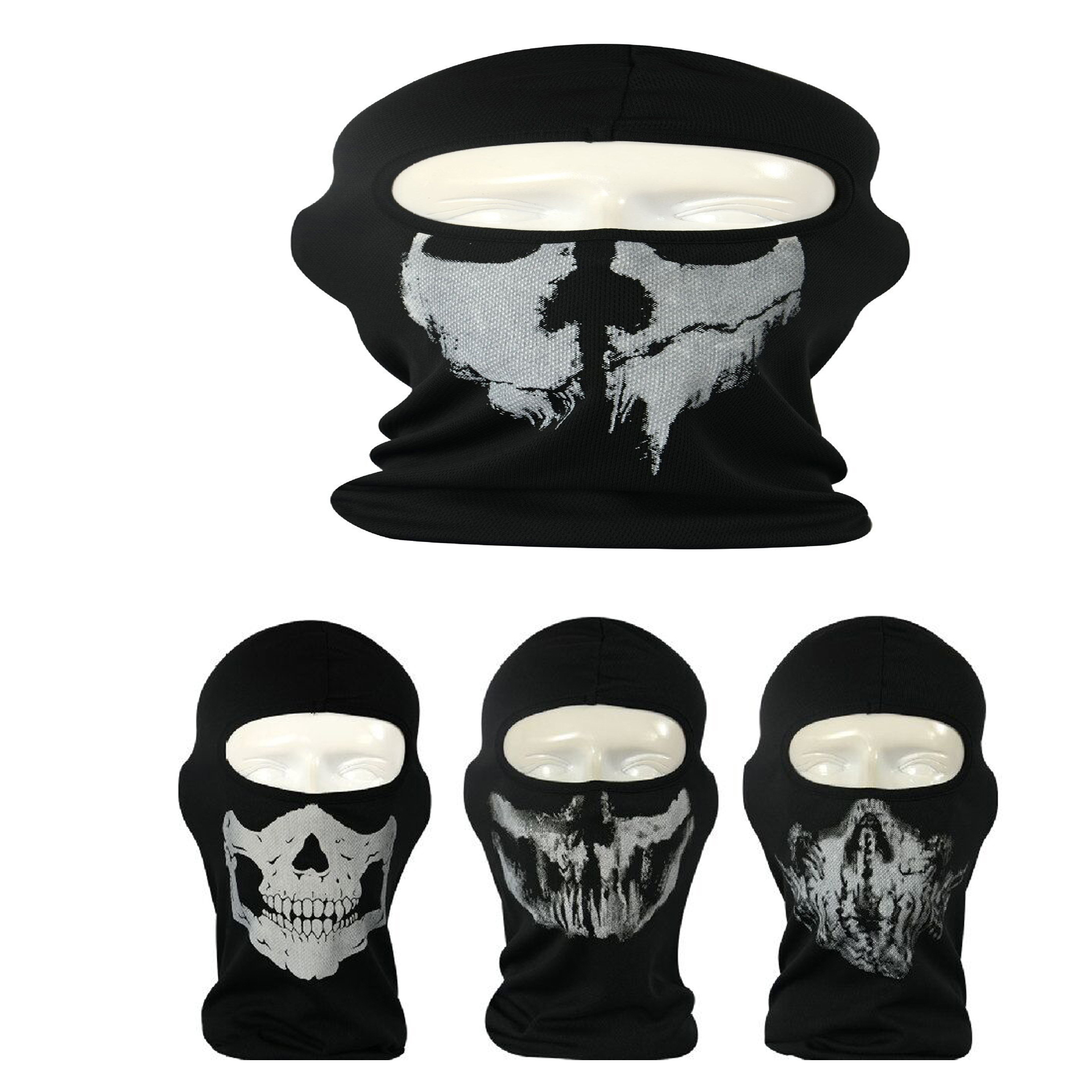 2016 New Cycling Motorcycle skull mask Ride skeleton Stretch Hap Balaclava Hood Cosplay Costume Full Face Masks Free Shipping(China (Mainland))