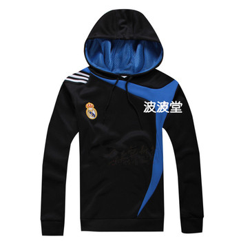 Fans supplies football souvenir real madrid sports clothing outerwear afghanistanwhen service training suit