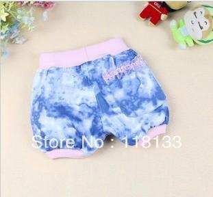 Girls clothing girls' shorts Leisure blue shorts short pants summer wear super comfortable