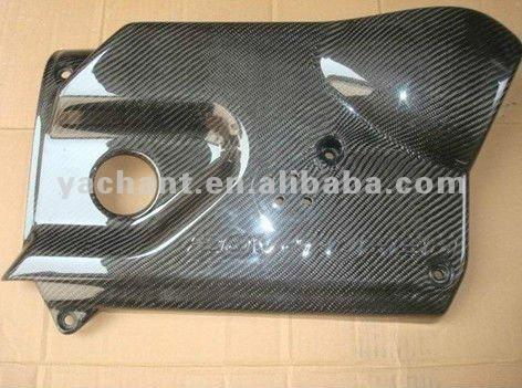 Carbon Fiber Engine Cover Fit For 2004 2007 Volkswagen VW Golf MK5 GTI