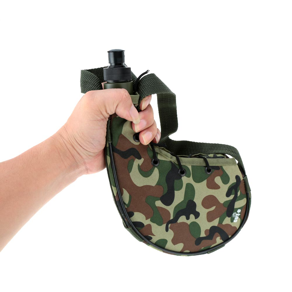 Hot Sale Outdoor Water Bottles Portable Canteen Sports Camping Climbing Hiking Camouflage Water Bottle Canteen 800ml(China (Mainland))