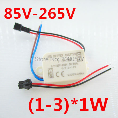 3pcs/lot, (1-3)X1W LED driver, 1W-3W 300mA led outside Transformers for ceiling light, ceiling Light LED driver, freeshipping<br><br>Aliexpress