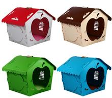 High quality Colorful plastic pet dog kennel dog house(China (Mainland))