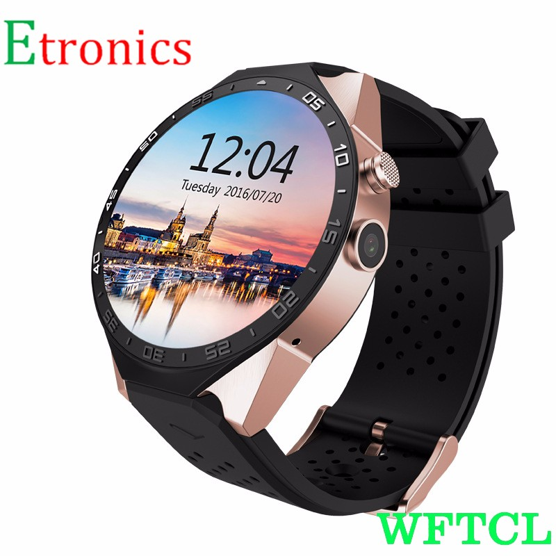 WFTCL Reloj inteligente Smart Watch Cell Phone Fitness Tracker Bluetooth WristWatch with Camera for Android&IOS Smartphones
