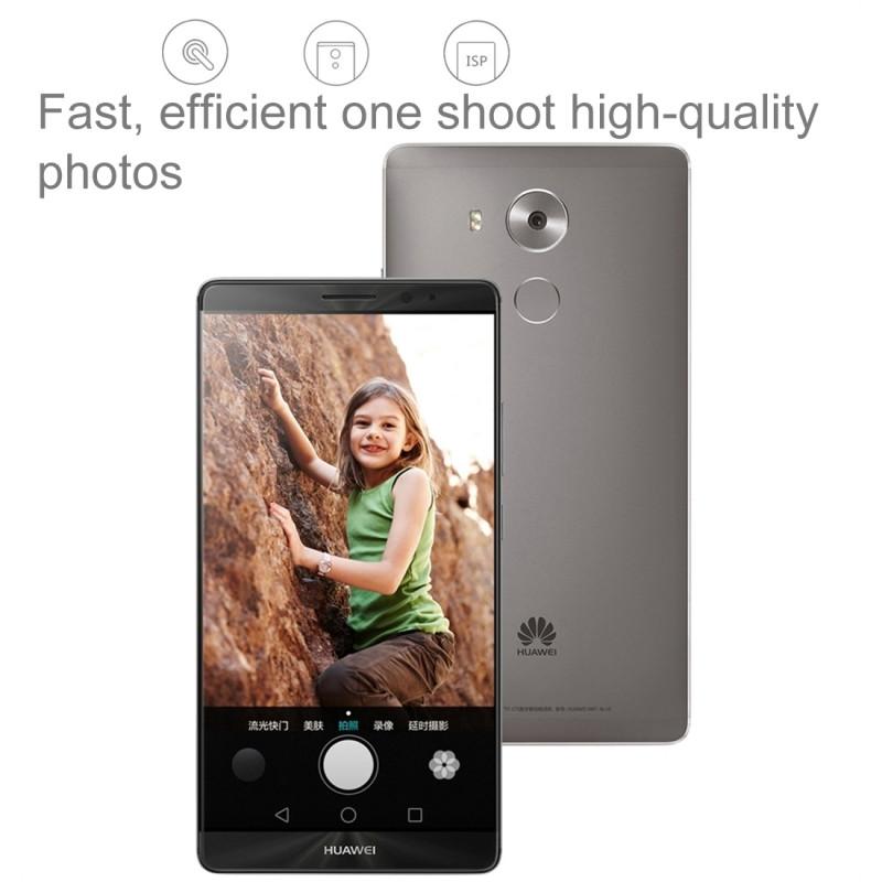 Original Huawei Mate 8 LTE Mobile Phone Kirin 950 Octa-Core Android 6.0 OS 6.0″ Screen 4GB RAM 64GB ROM 16.0MP Camera Smartphone