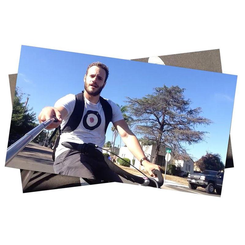 image for Mini Foldable Stick Tripod Monopod Wireless Selfie Stick Extendable Bu