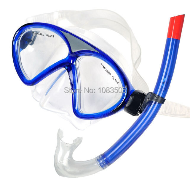 2016 Winmax New Professional Swimming Pool Equipment Scuba Silicone Diving Mask and Dry Snorkel Googles Set(China (Mainland))