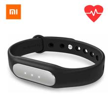 Original Xiaomi Mi Band 1S Heart Rate Monitor Smart Wristband Miband Bracelet For Android iPhone Passometer Fitness Tracker