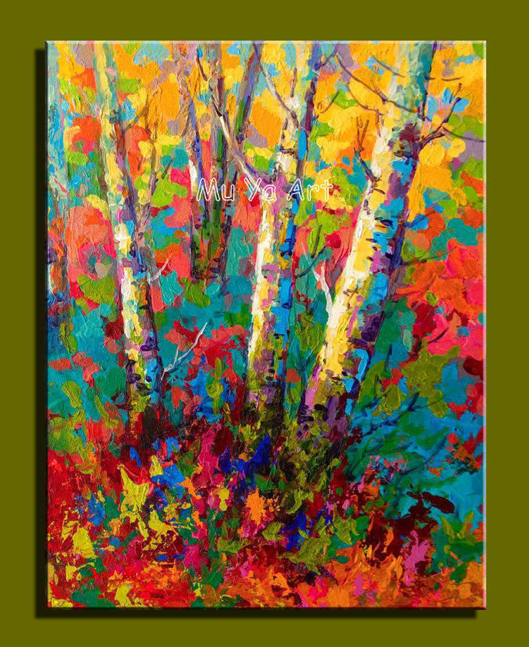 Famous abstract acrylic painting