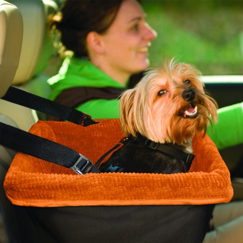 Car Front Seat Dog Cage Pet Waterloo Comfort Travel Pet Carrier Dog Booster Seat for Cars with Seat Belt Tether(China (Mainland))