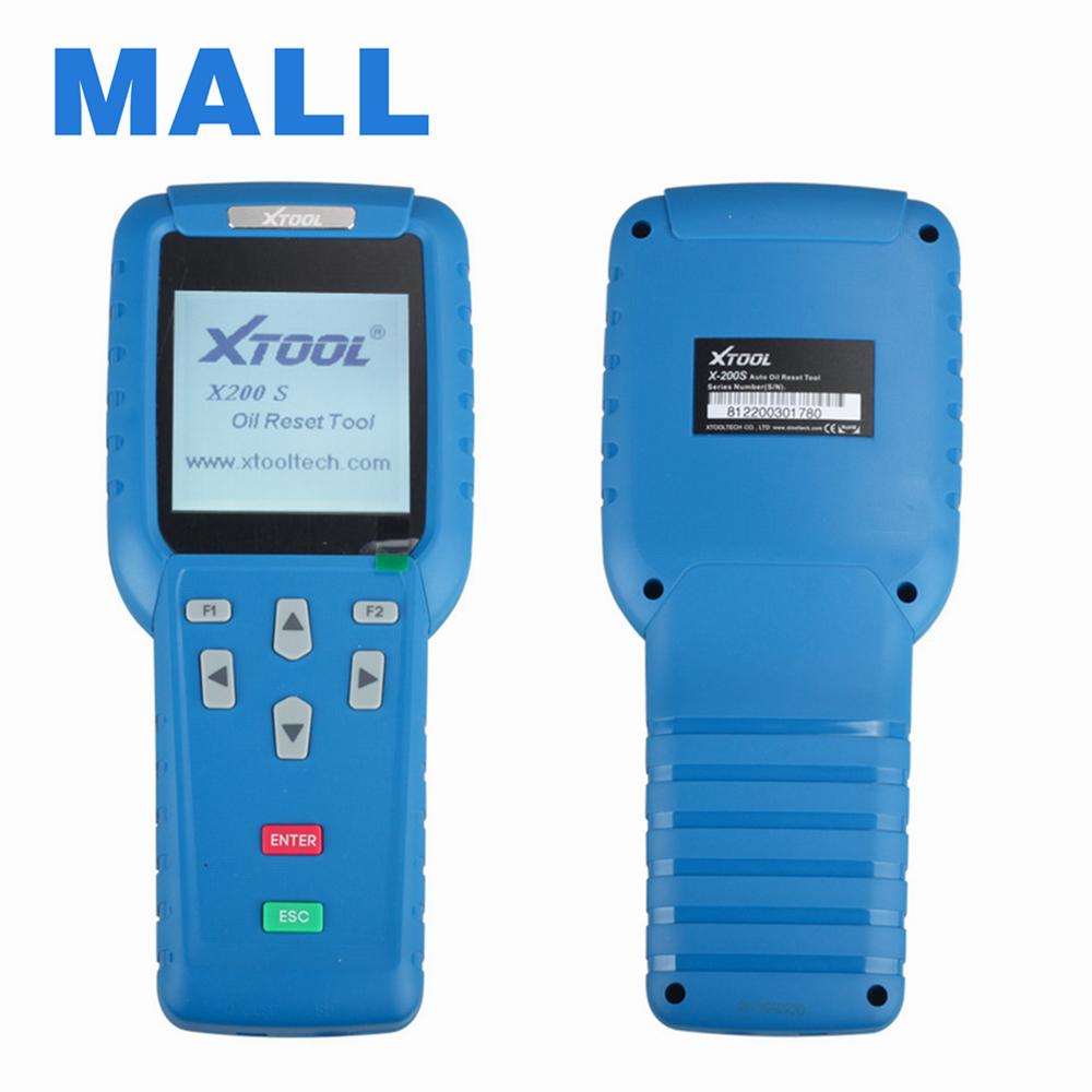 2016 высокое качество оригинал Xtool нефть сброс инструмент X-200 X200 сброс инструмент онлайн-обновление 3 года гарантии DHL бесплатная доставка