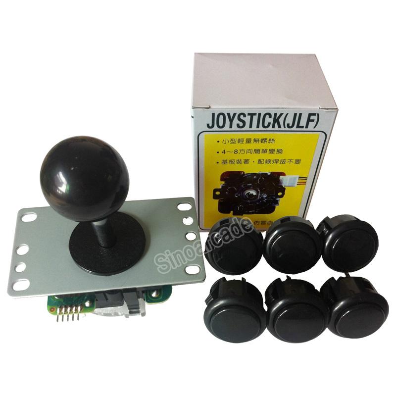 HTB1rZ NLFXXXXaOXFXXq6xXFXXXU - Original Sanwa Joystick JLF-TP-8YT with 6 OBSF-30 Buttons for arcade jamma game kit