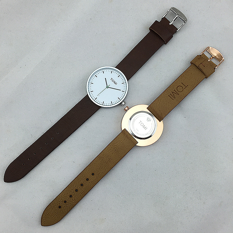2017 New Style Ultra Thin Women Watches montre femme Waterproof Leather Quartz Watch Ladies Watch reloj mujer Girl Clock Gift