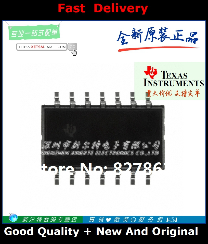 Free Shipping SN74AHC00NS 74AHC00 SOIC-14 gate / inverter IC [ original authentic ](China (Mainland))
