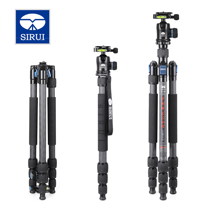 SIRUI W-1204 W1204 Tripod Carbon Fiber Flexible Monopod For Camera Water/Sand Proof Triopd With K10X Ball Head DHL Free Shipping<br><br>Aliexpress