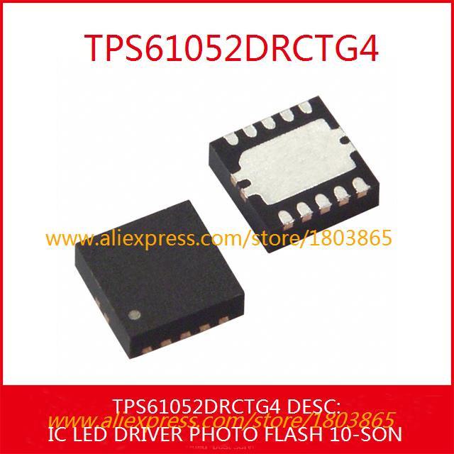 Free Shipping Electronic Kit TPS61052DRCTG4 IC LED DRIVER PHOTO FLASH 10-SON 61052 TPS61052 3pcs(China (Mainland))