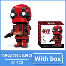 Brinquedos Do Homem Aranha Figura de Ação Mini Figuras Blocos Super Hero Deadpool Figuras de Personagens Do Filme Brinquedos Lembrança Para Os Homens Menino Amigo(China)