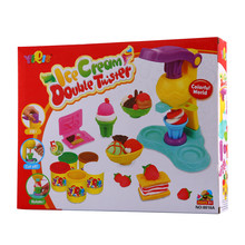BS#S  Kid's Toy Plasticine Ice Cream Ice Lolly Mold Set Mode Soft Clay Play Doug(China (Mainland))