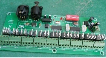 free shipping  rgb controller 27 channel easy DMX LED controller;dmx decoder& driver