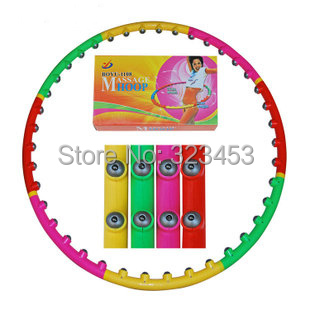 Outdoor fun & sports Health Fitness magnets Magnetic Hula Hoop lose weight classic massage Detachable hula-hooping(China (Mainland))