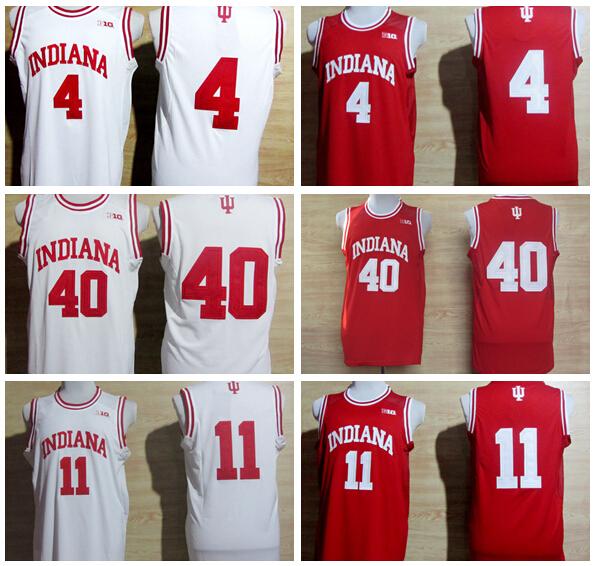 Barato Indiana Hoosiers NCAA Jersey 4 Victor Oladipo 11 Isiah Thomas 40 Cody Zeller Colege Jerseys del baloncesto 2015 venta al por mayor(China (Mainland))