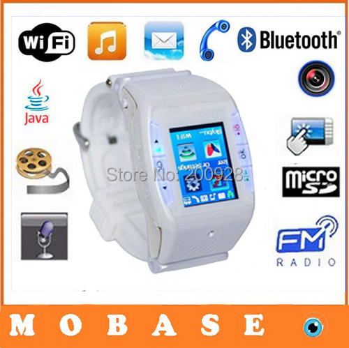 Original WIFI TOUCH Watch Phone N88 with Camera Bluetooth JAVE FM MP3 MP4 Game GPRS WAP Quadband Mobile Phone English Russian(China (Mainland))