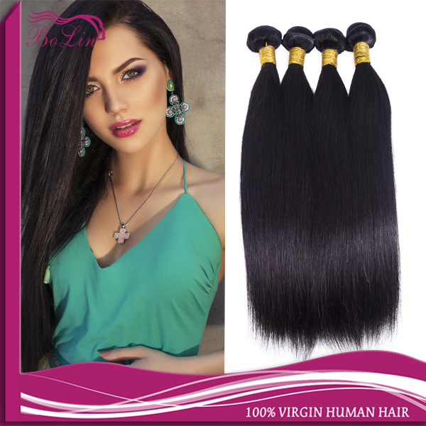 Brazilian Virgin Hair Straight Mixed Length Virgin Brazillian Straight Hair Extensions in Stock Cheap Human Hair Bundles