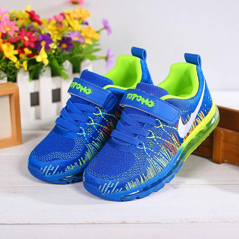 2015 New Children fashion sneakers rubber kids sports sneakers breathable velcro children running sneakers,Size 31-37(China (Mainland))