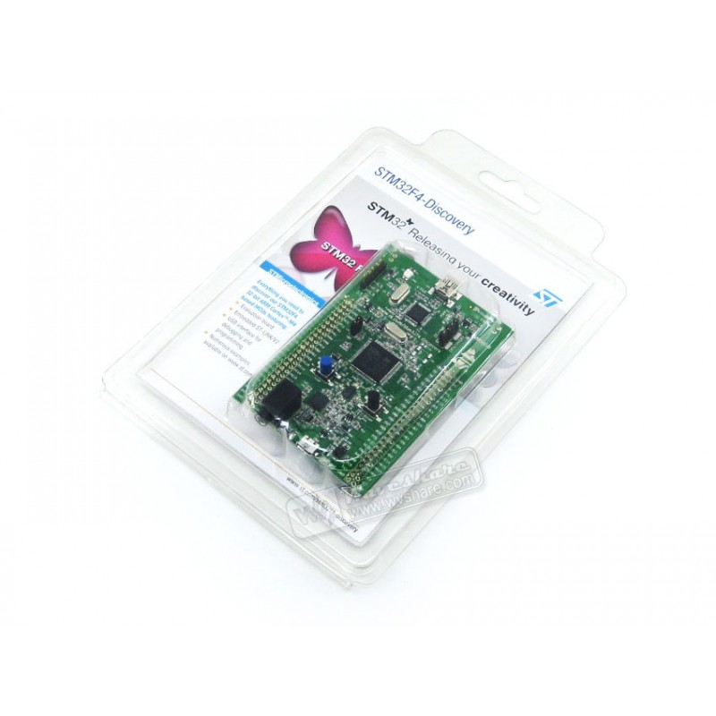 STM32 Discovery Kit STM32F4DISCOVERY 32-bit ARM Cortex-M4F 1 MB Flash 192 KB RAM(China (Mainland))