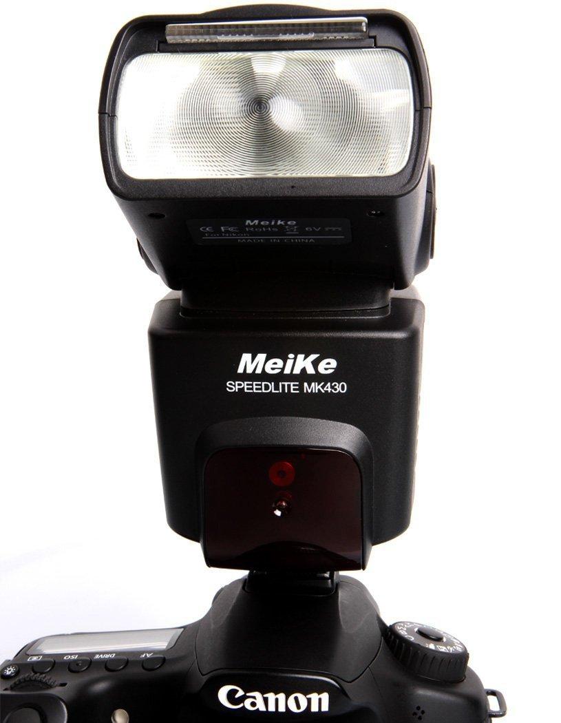 Вспышка для фотокамеры MeiKe MK430 mk/430 TTL Speedlite Canon 430EX II EOS 5D IIi 6D 60D 450D 500D 550D 600D 650D 700D 1000D 1100D MK-430C meike mk 580 ttl camera flash speedlite for canon 580ex ii eos 5d mark ii iii 6d 7d 60d 600d 700d diffuser