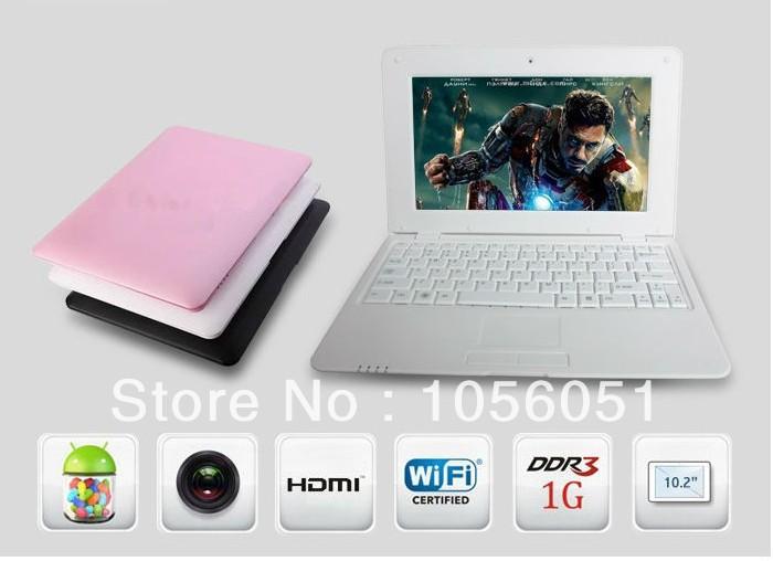 Cheap Notebook android 4.2.2 dual core Mini Laptop VIA 8880 Cortex A9 1.6GHZ HDMI &WIFI & Camera(China (Mainland))