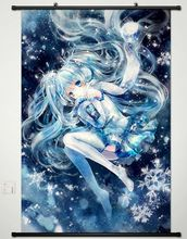 NEW Vocaloid HATSUNE MIKU Japan Wall Poster Scroll Home Decor Cosplay Anime 435