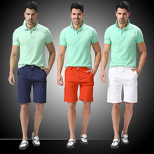 2015 Sommer männer shorts volltonfarbe mode neuankömmling plus size 30-40 knielang grundlegende bermuda masculina e1433(China (Mainland))