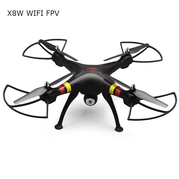 Syma X8W Explorers WiFi FPV RC Quadcopter With HD Wide Angle Camera RTF Headless Mode RC Drone