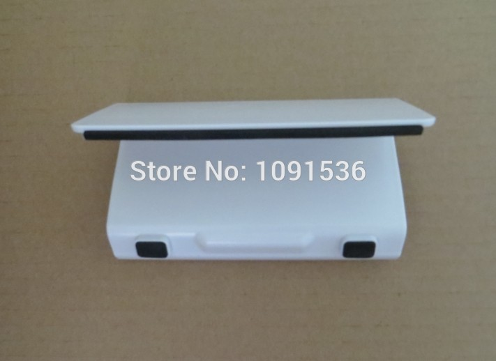 Free shipping ABS Stand Holder White/Black For Nintendo Wii U Game Console/Phone/PS Vita