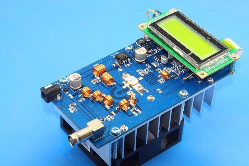 New 12V 30w 76M-108MHz Digital FM Transmitter Radio Station PLL Stereowith(China (Mainland))