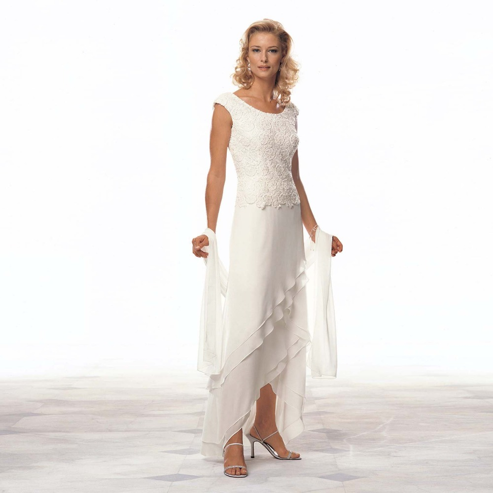 Popular Ivory Dresses for Mother of The Bride-Buy Cheap Ivory ...