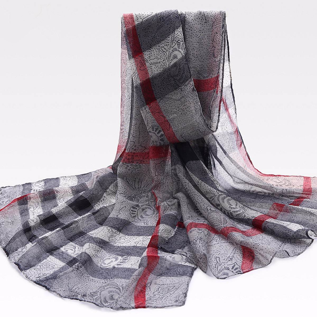2016 Women Plaid Artificial Silk Scarf Winter AutumnPashmina Large Scarves Soft Comfortable Casual Long Muffler Shawl Ladies(China (Mainland))
