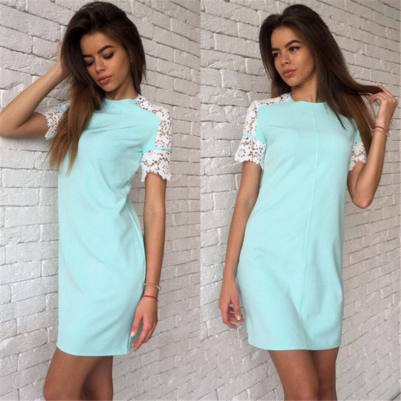 Платья с рукавом на лето