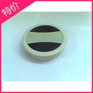 Plastic wire hole cover , office desk line manhole covers, boxes , threading hole cover , opening 60 / round color(China (Mainland))