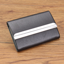 Buy New Card Holder Case Box Metal Women Men Portable Pocket Big Capacity Creidt ID Cards Visiting Card Holder Purse Wallet Carteira for $5.50 in AliExpress store