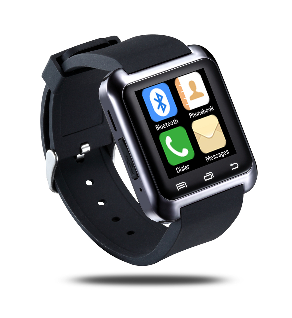 Bluetooth Smart U80 Watch BT-notification Anti-Lost MTK WristWatch for iPhone 4/4S/5/5S Samsung S4/Note 2/Note 3 Android Phone(China (Mainland))