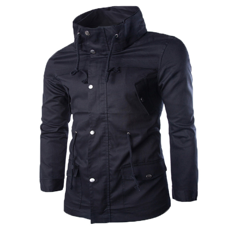 2016 New Fashion winter mens windbreaker jacket College Style Slim Fit Windrunner mens fall jacket varsity jackets 100(China (Mainland))