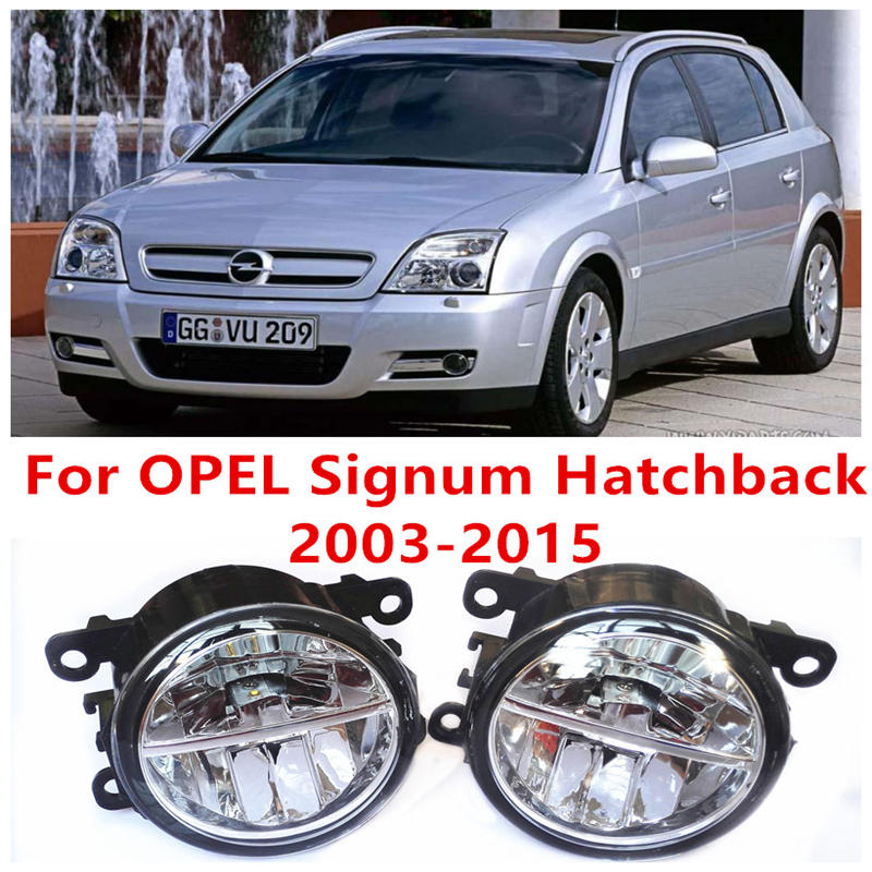 OPEL Signum Hatchback 2003-2015 Fog Lamps LED Car Styling 10W Yellow White 2016 new lights - E-J Fifi AUTO store